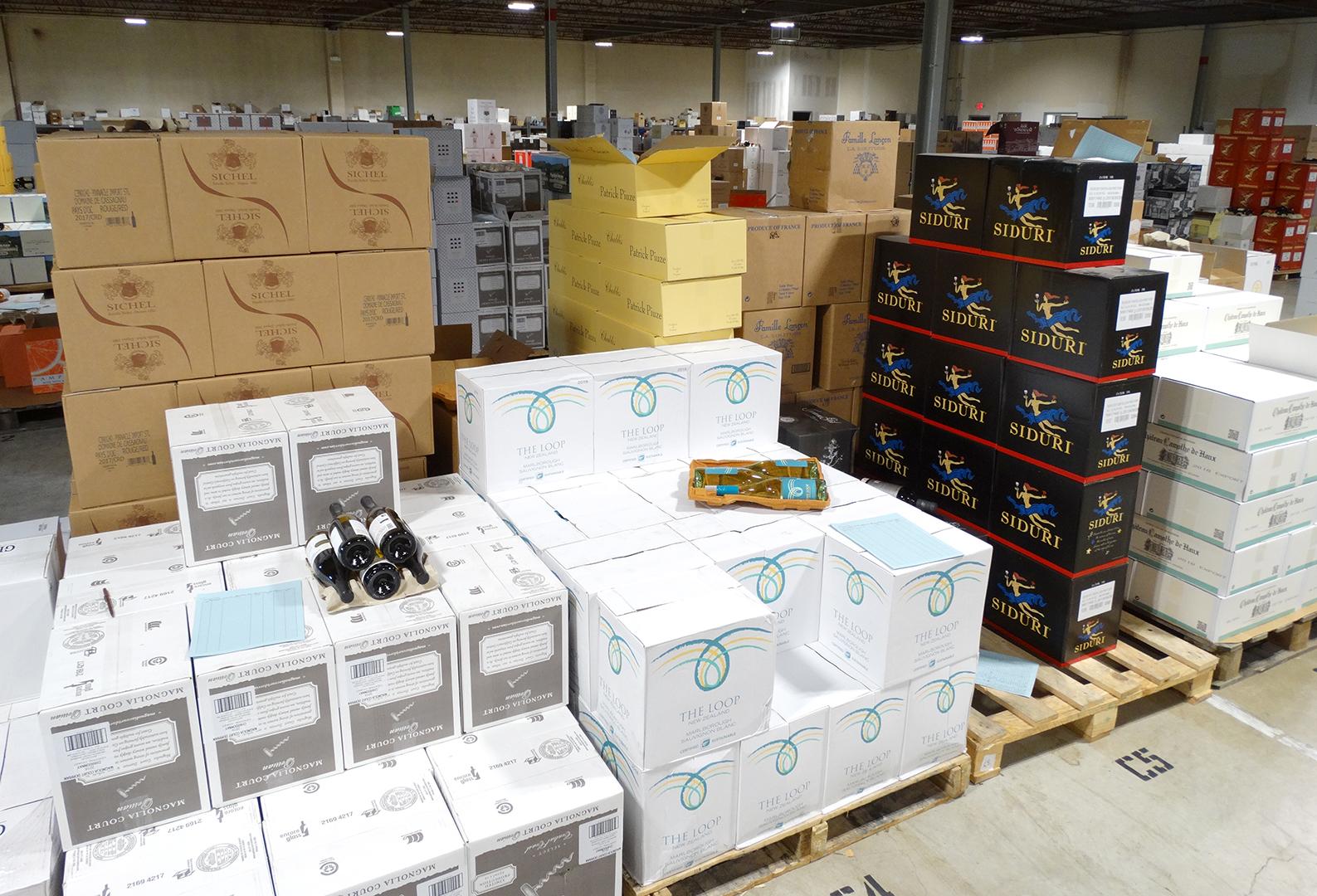 Pinnacle Imports warehouse