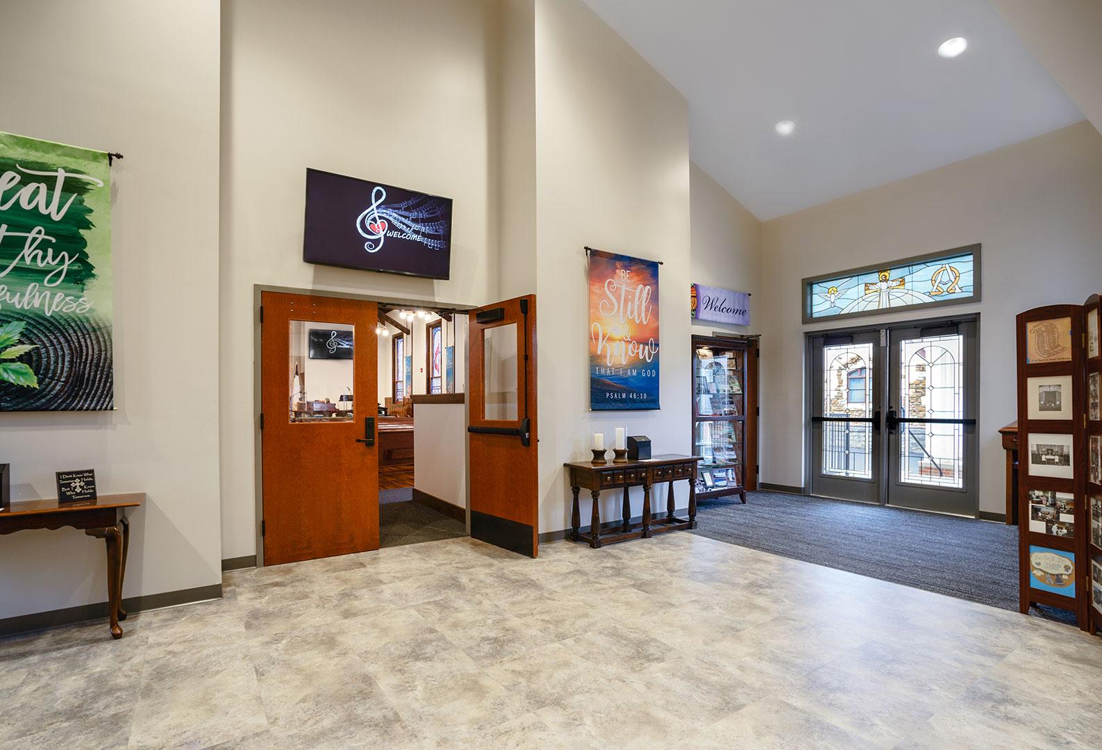 Lobby of St. Luke